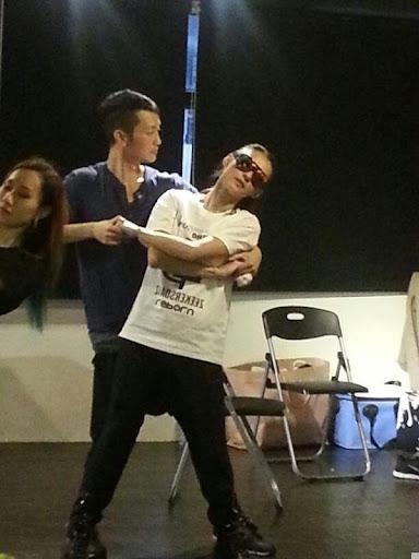 張栢芝正為內地跳舞節目練習,並獲導師贊記性好