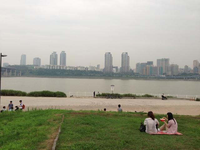 Kết quả hình ảnh cho picnic han river