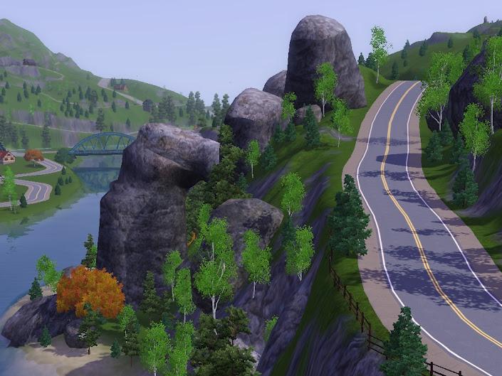 sims mountains