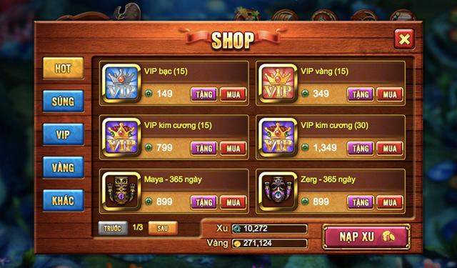 VSS Game đưa Trùm Bắn Cá cập bến Zing Me 5