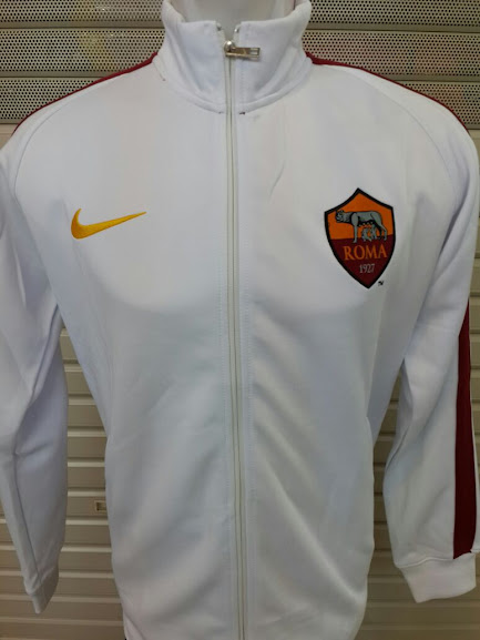 Jual Jaket AS Roma Putih 2014-2015