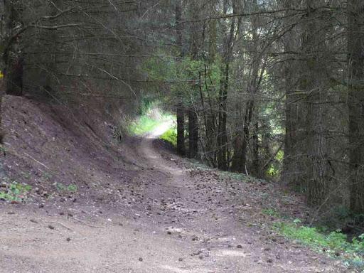 Sentier entre Auzat et Blassac