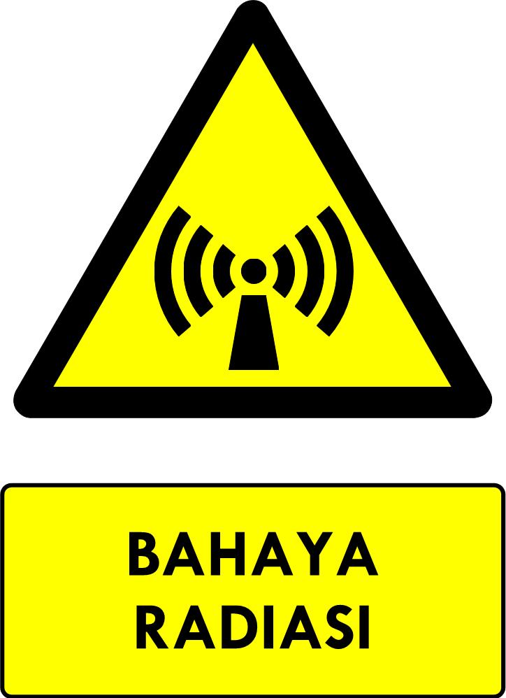 Rambu Bahaya Radiasi