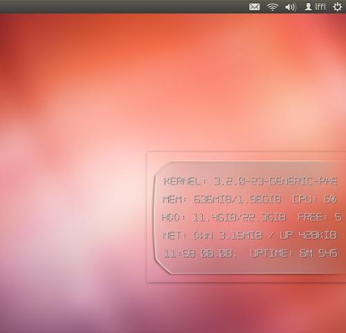 Conky H.U.D. su Ubuntu