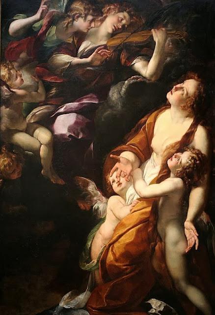 Giulio Cesare Procaccini - The Ecstasy of the Magdalen