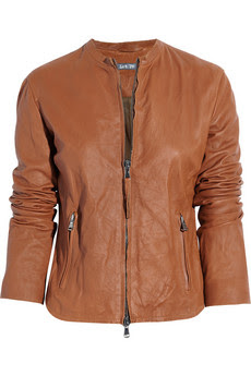 Lot78 Tan Leather Jacket