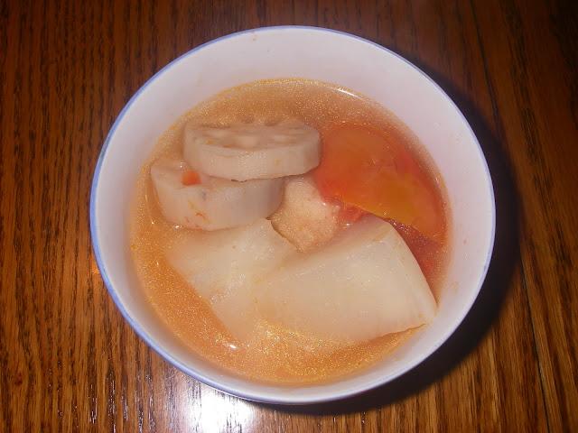 蓮藕柑仔蜜湯