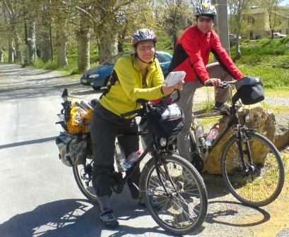 Miri und Chris am Canal du Midi (Foto: Kristian Huchtemann)