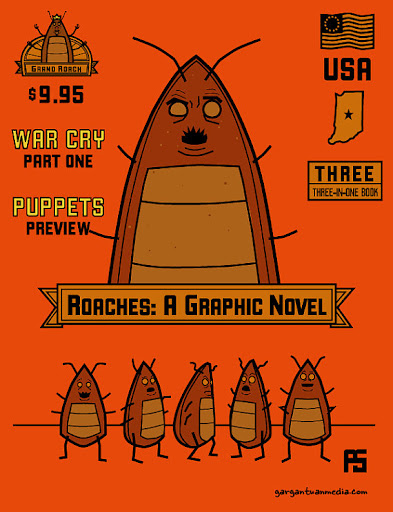 Roaches Graphic Novel Paul Schmitt