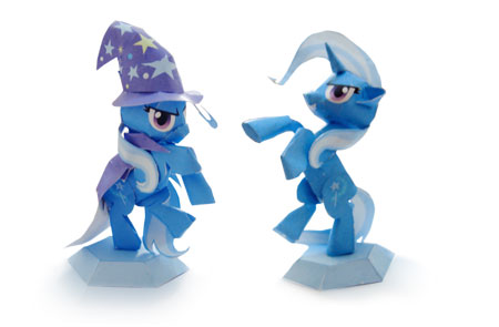 My Little Pony Papercraft Trixie