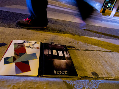 llibre d'artistes Pionera a l'asfalt