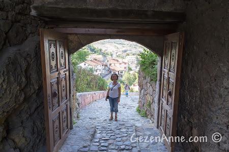 Kastamonu Kalesi'nin giriş kapısı