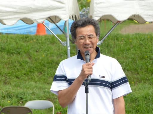 澤田北竜町体育協会会長