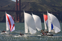 J/105s sailing San Francisco