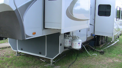 openrange rv propane bottles drivers side