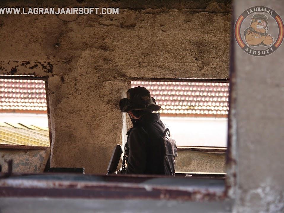 OPERACIÓN PEREGRINO. FOTOS. LA GRANJA. 30-11-14. PICT0080