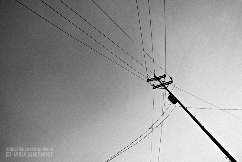 A Lonely Electric Pole at San Carlos City, Negros Occidental