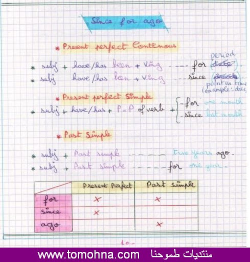 english lessons for 3AS 22%2520since%2520-%2