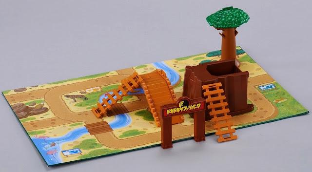 Hình ảnh phong phú, thiết kế tinh xảo của bộ đồ chơi mô hình Safari Park