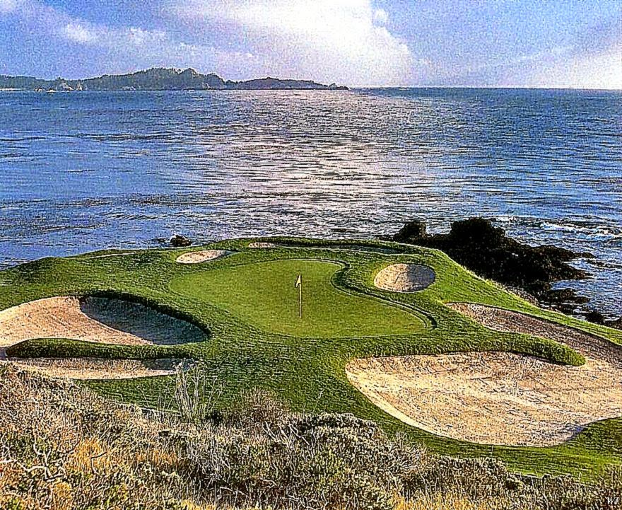 Pebble Beach Golf Links  Simple Golf Products  Golf Training