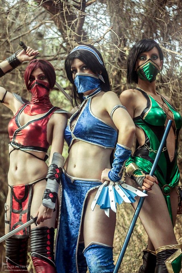 Ngất ngây với cosplay Mortal Kombat nóng bỏng - Ảnh 8