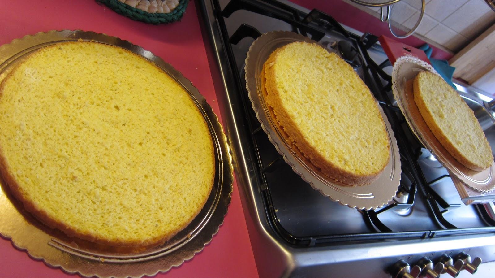 Sweet home cake pan di spagna - Glassa a specchio su pan di spagna ...