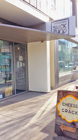 Cheese & Crack Snack Shop in Portland, on SE 28th just a few steps south of Burnside