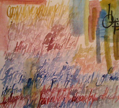 """Blendings"" by artist Cindy Banes-Burkholder."
