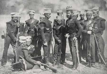 Солдаты из Непала