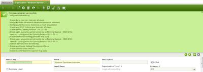 gambar hasil openbravo configuration wizard | wirabumisoftware.com