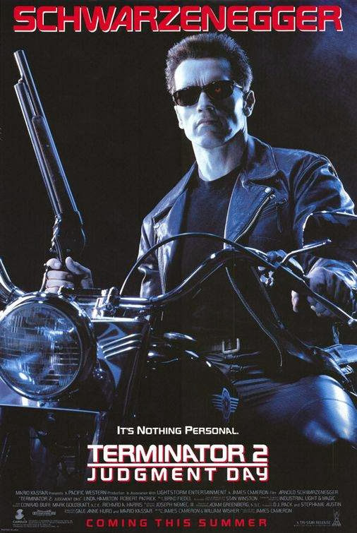 Poster Of Terminator 2: Judgment Day (1991) Full Movie Hindi Dubbed Free Download Watch Online At Alldownloads4u.Com