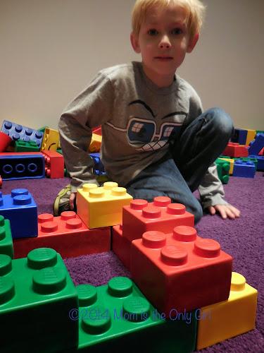 Giant LEGO play https://momistheonlygirl.com