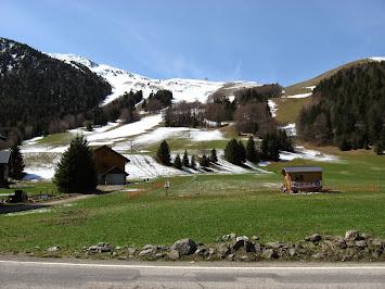 La station de l'Alpe du Grand Serre