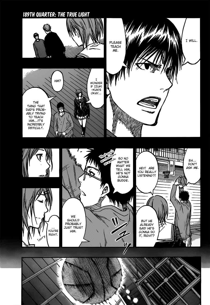 Kuroko no Basket Manga Chapter 189 - Image 03