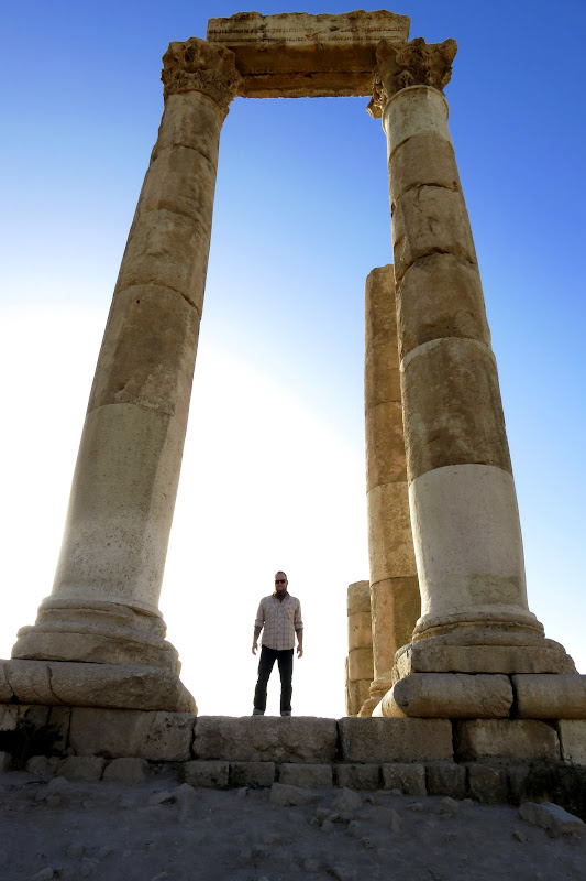 Tony at Temple of Hercules
