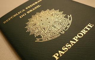 passaporte brasileiro comum.
