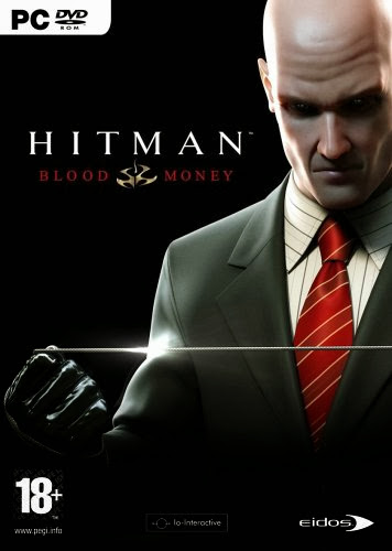 Cover Of Hitman Blood Money (2006) Full Latest Version PC Game Free Download Resumable Links at Alldownloads4u.Com