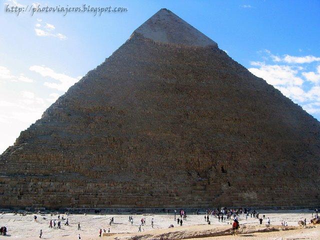 Entrada a Piramide de Kefren