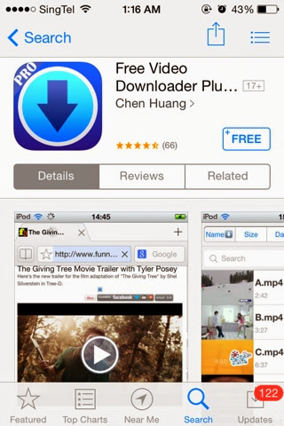 free iphone apps: [FREE APP] [iOS] FREE Video Downloader