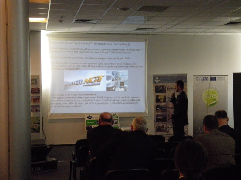 Prezentacja technologii CNG - przedstawienie oferty pojazdów użytkowych Mercedes-Benz Poznań
