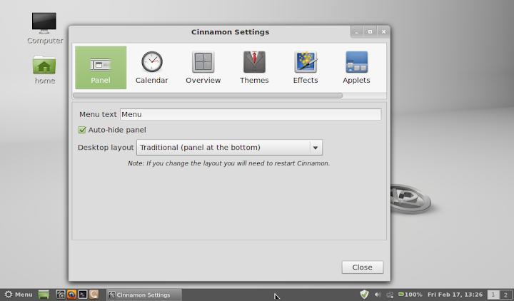 Linux Mint 12 Gnome