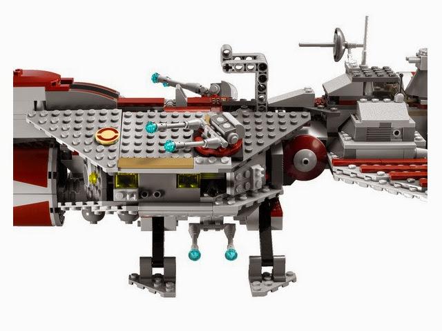 7964 レゴ リパブリック・フリゲート(スターウォーズ)