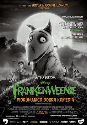 Plakat filmu: Frankenweenie
