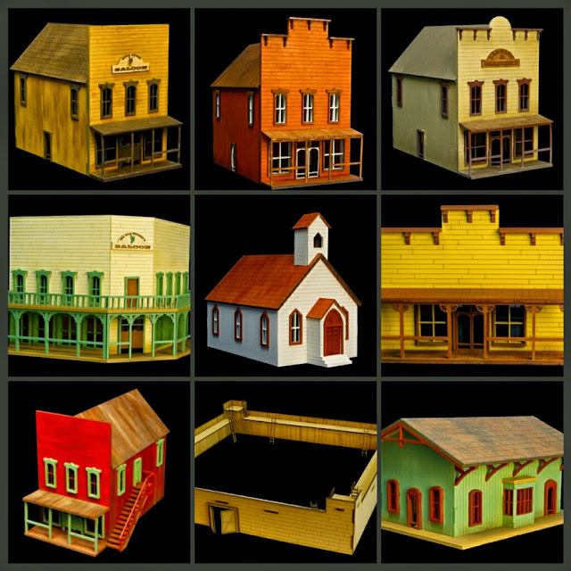 casas old west GameCraft Miniatures