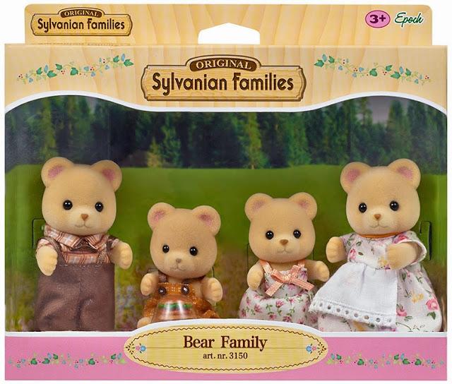 Gia đình nhà gấu 4 người Bear Family 3150 được làm từ chất liệu vải mềm mại, an toàn cho trẻ
