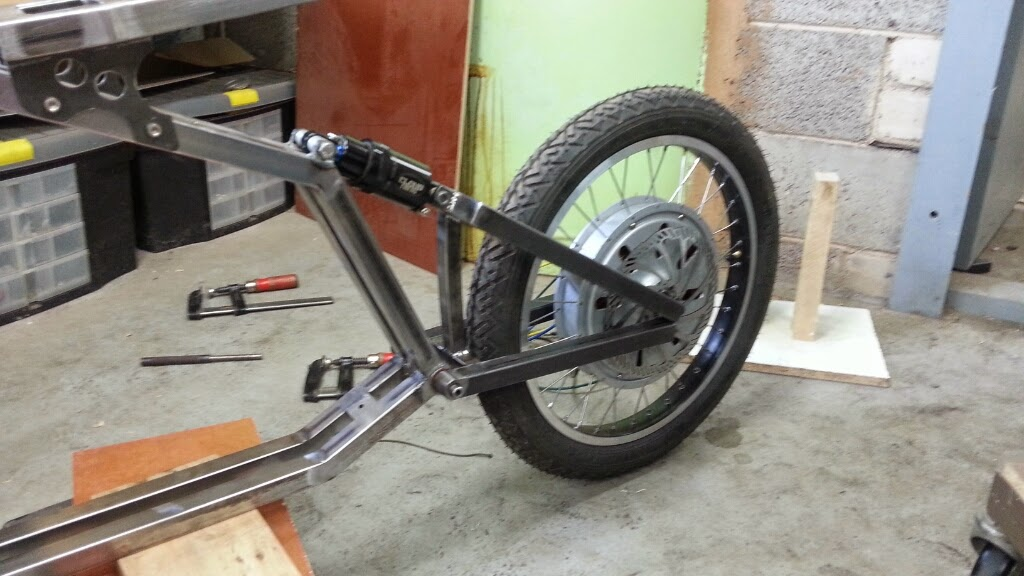 how to build a joystick bike from scratch