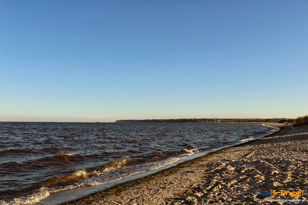 Morze Bałtyckie w okolicach Rewy