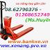 Xe nâng tay gắn cân, xe nâng tay CNT giá rẻ, siêu cạnh tranh - www.xenang.pro.vn - 01208652740 Huyền