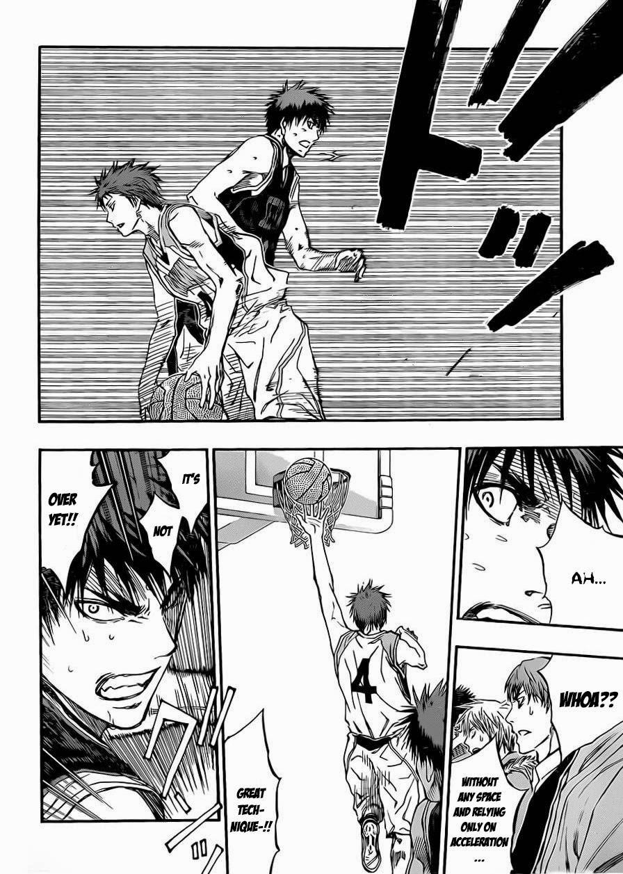 Kuroko no Basket Manga Chapter 240 - Image 12