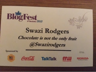Blogfest badge Swazi Rodgers